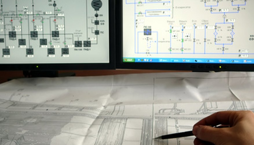 Drawing P Id Electrical Single Line And Electronic Block Diagram