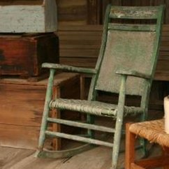 Antique Rocking Chair Identification Replica Eames How To Identify An Our Pastimes Old In Shop
