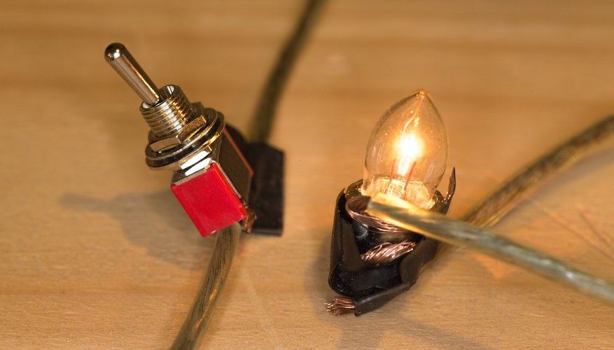 How To Make A Simple Circuit With On Off Switch For A Light Bulb