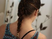 How to French-Braid Your Own Hair (with Pictures) | eHow