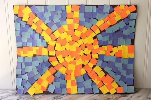 Roman Mosaic Patterns for Kids