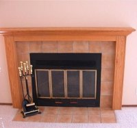 How to Build a Fireplace Mantel   eHow