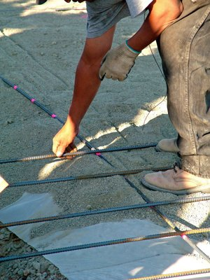 How to Estimate Cubic Yards of Concrete  eHow
