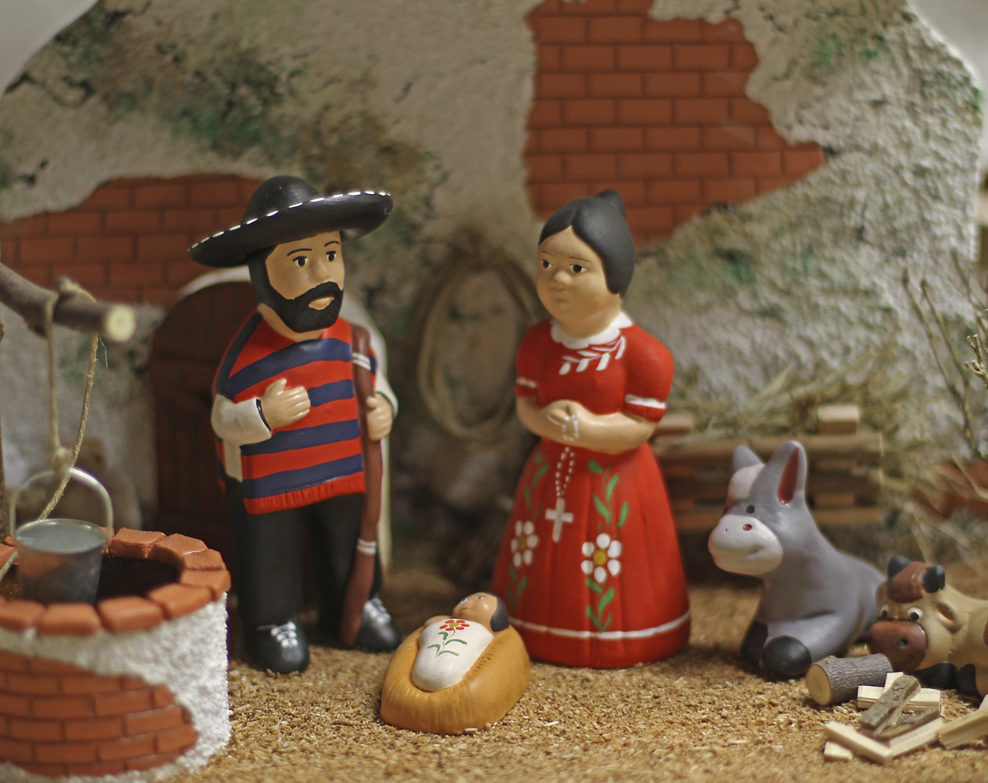 What Main Holiday Decoration Most Mexican Homes