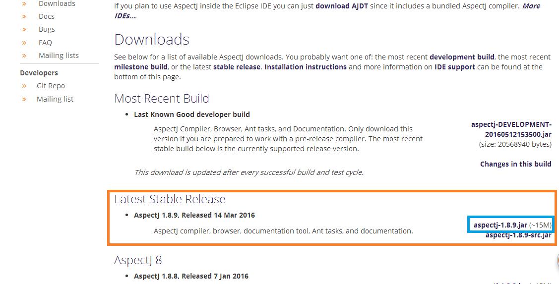 Spring所依賴的AspectJ的jar包下載/Spring-aop注解jar包下載_Java_w112736112736的博客-CSDN博客