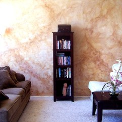 Living Room Wall Paint Finish White On Edward Pollick Art Illustration Faux Interior Home