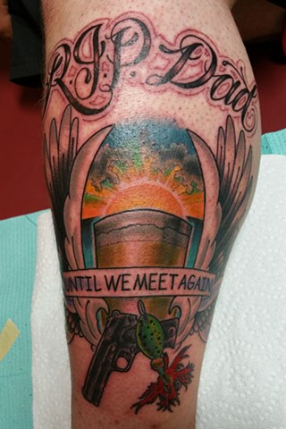 Rip Dad Tattoos : tattoos, Animal, Tattoo, Chicago