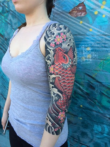 Japanese Koi Tattoo