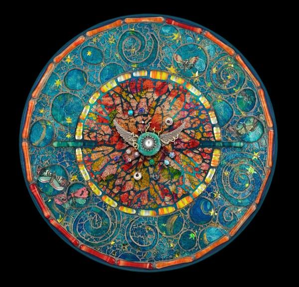 Tempered Glass Mosaic Mandala