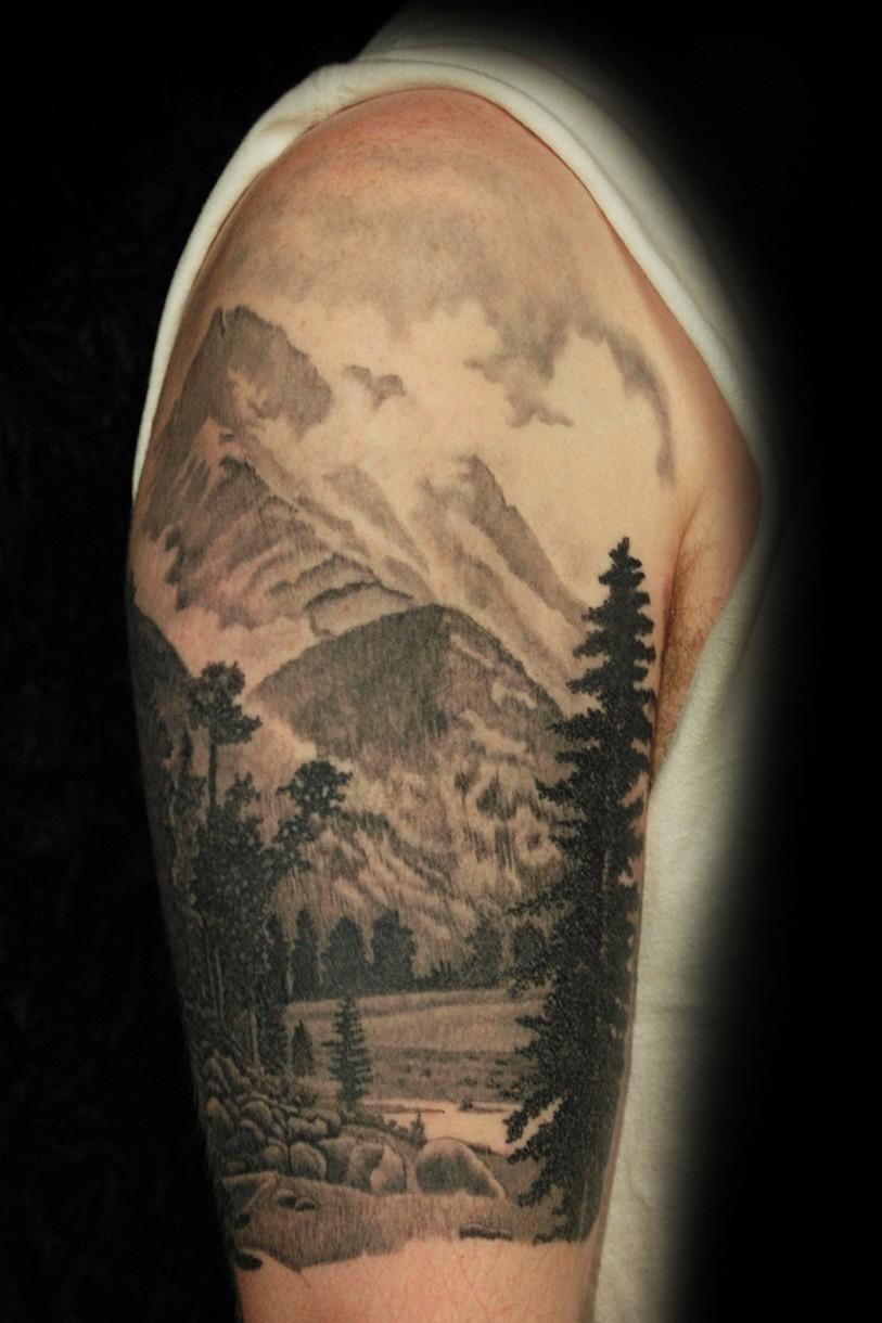 Rocky Mountains Tattoo : rocky, mountains, tattoo, Tattoo, ROCKY, MOUNTAINS