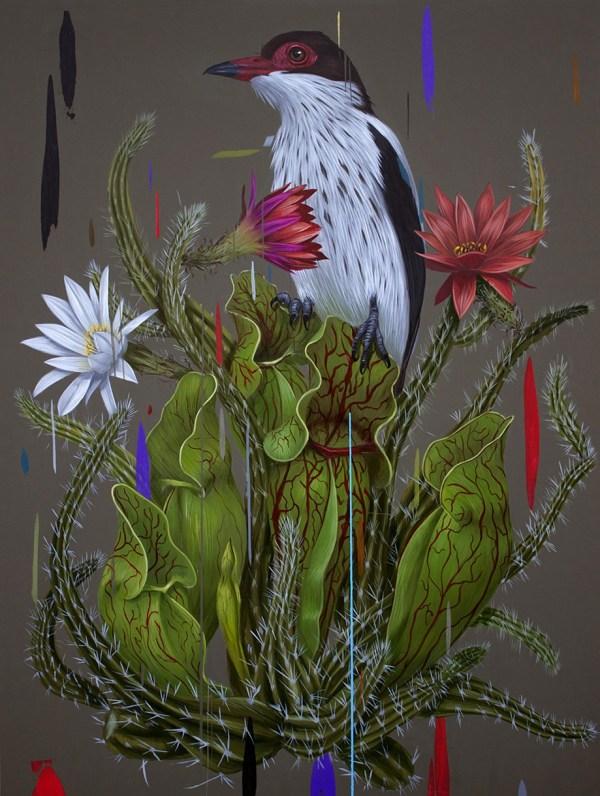 Frank Gonzales Birds Paintings - Art People