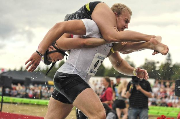 2. Wife Carrying