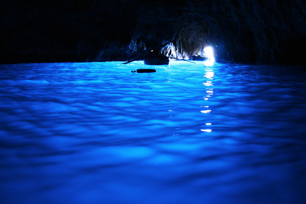 4. Blue Grotto, Italy