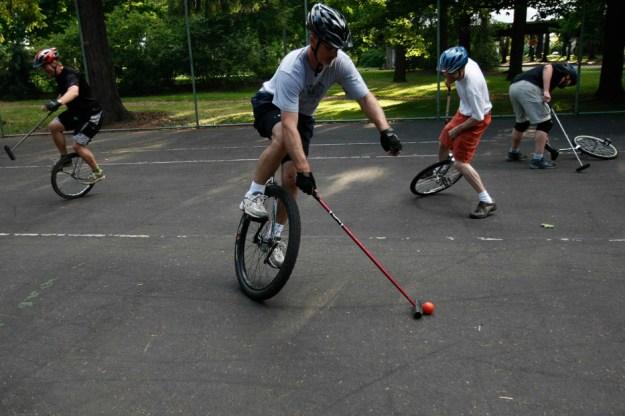 7. Unicycle Polo