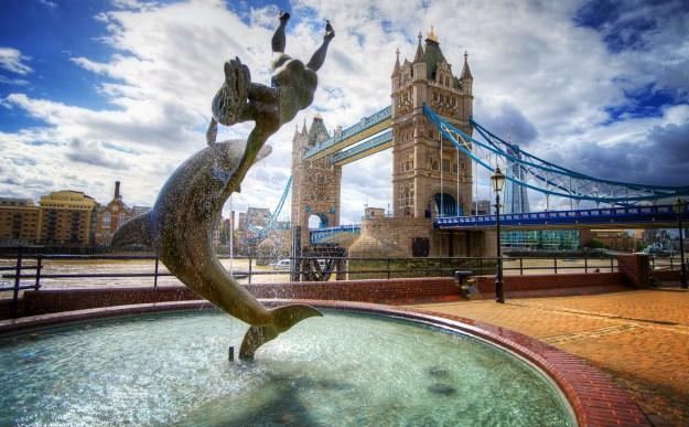 2. Tower Bridge, London, England 1