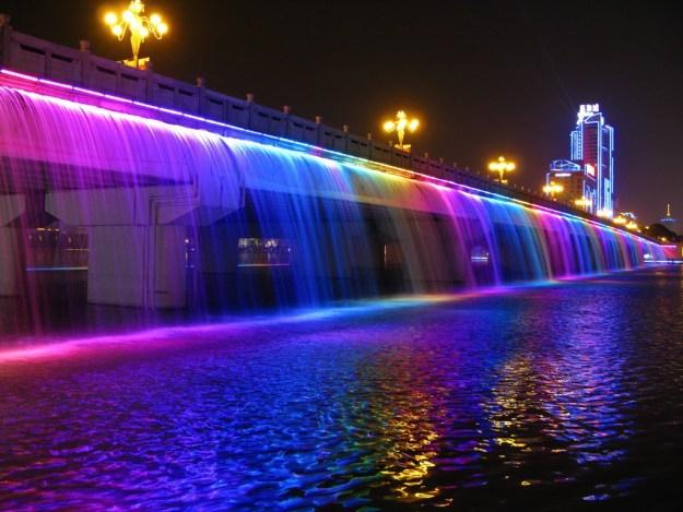 5. Banpo Girder bridge in Seoul, South Korea 1