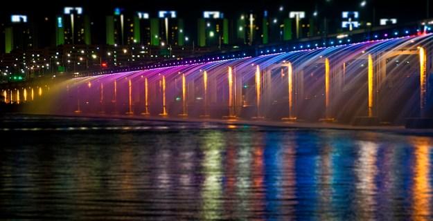 5. Banpo Girder bridge in Seoul, South Korea 2