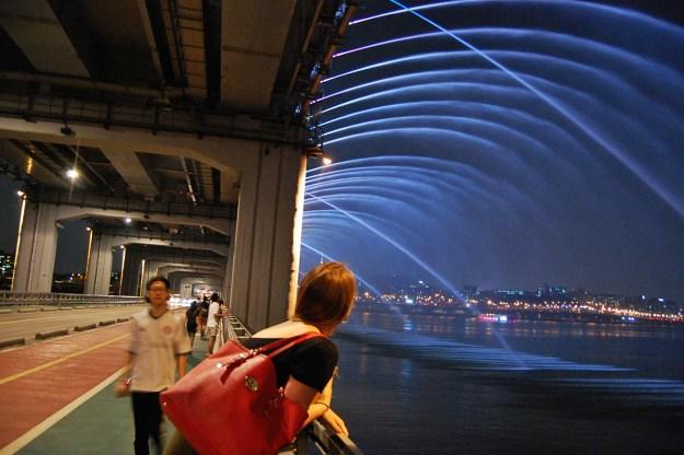 5. Banpo Girder bridge in Seoul, South Korea 4
