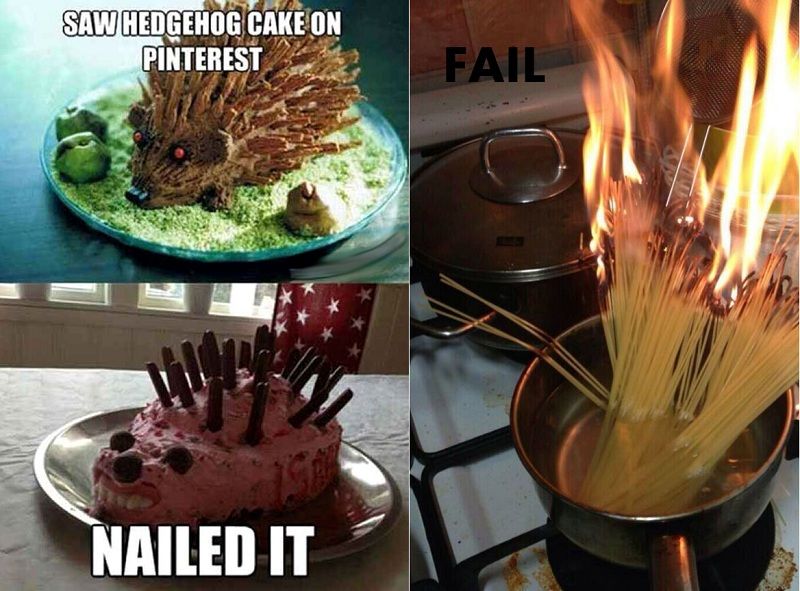 Cooking Fails Expectations VS Reality  Brain Berries