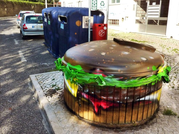 Junk Gets a Second Life as Gorgeous 3D Animal Street Art 5