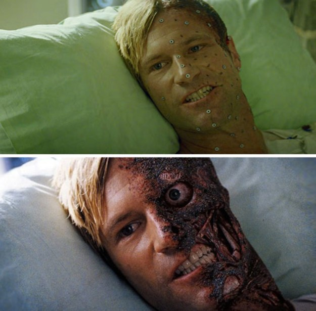 20 Before and After Comparisons of Movie Visual Effects 16