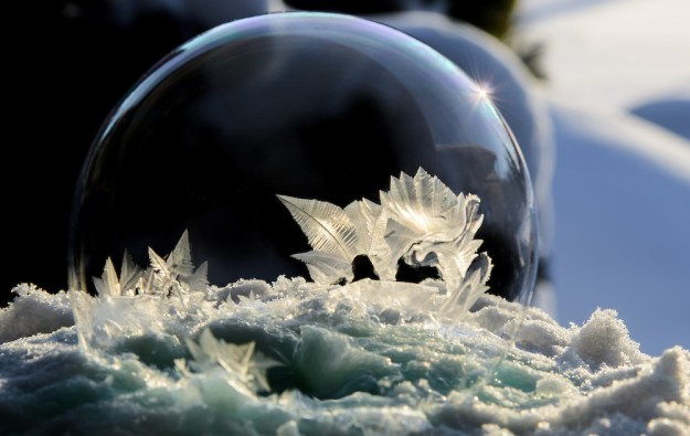 Mysterious Frozen Bubbles By Hope Carter 10
