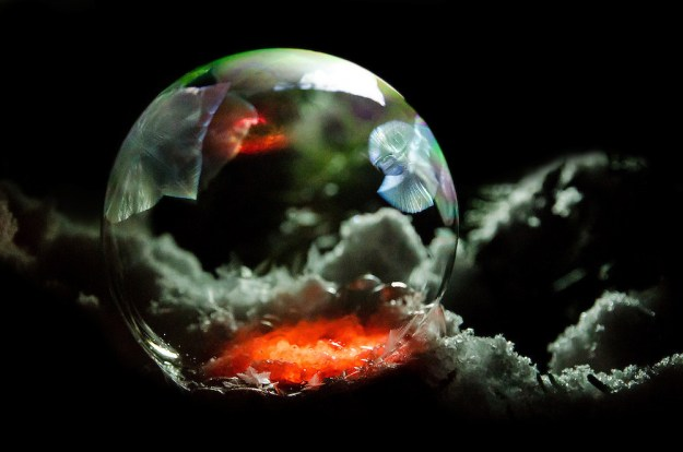 Mysterious Frozen Bubbles By Hope Carter 16