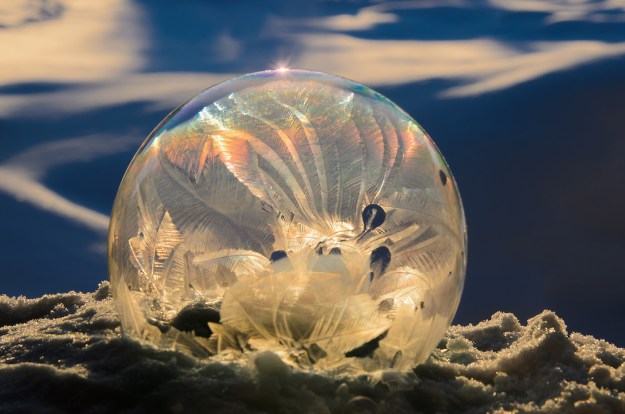 Mysterious Frozen Bubbles By Hope Carter 9