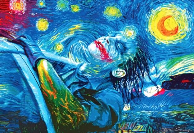 When Batman Pop Art Meets Classic Paintings 2