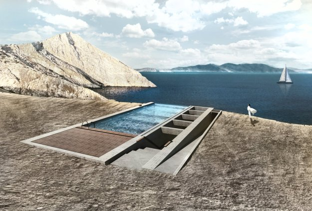 This House Was Built On A Cliff, You Won't Believe The Inside 2