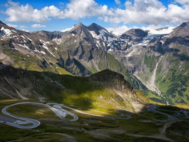 13) The Grossglockner High Alpine Road in Austria 1