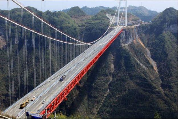 5) Aizhai Winding Road, China 2