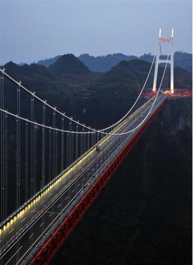 5) Aizhai Winding Road, China 3