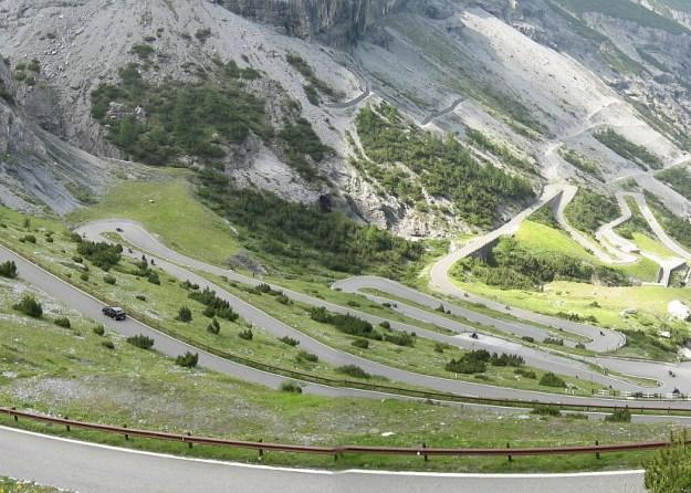 8) The Stelvio Pass, the Italian Alps 2