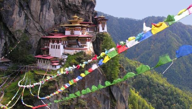 8) Tiger's Nest Monastery, Paro Valley, Bhutan