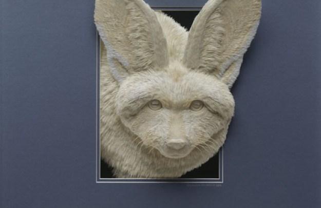 Super Realistic Paper Sculptures Of Animals By Calvin Nicholls 7