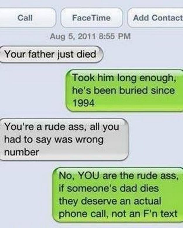 20 Best Responses To Wrong Number Texts 3