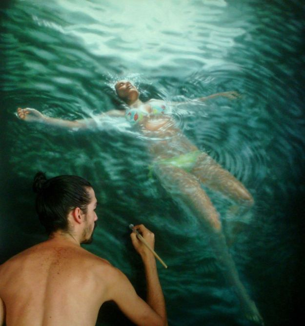 Hyper Realistic Paintings By Gustavo Silva Nuñez 2