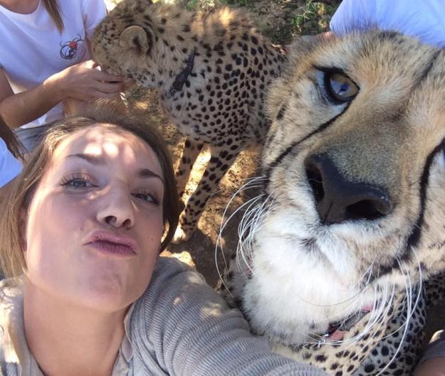 Snapping Selfies with Wild Animals Is a New Trend 26