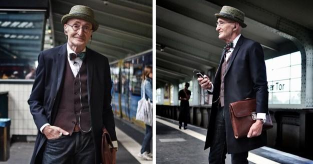 Stylish Grandpa Takes Internet by Storm 1