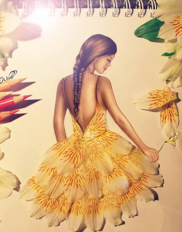 Absolutely Creative Dress Paintings Of Kristina Webb 10