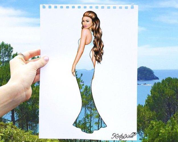 Absolutely Creative Dress Paintings Of Kristina Webb 14