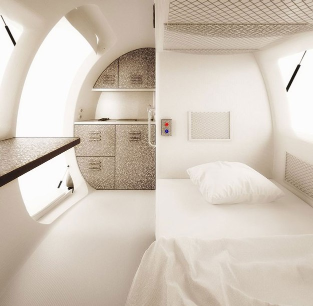 This Spacecraft-Like Micro-Home Will Amaze Sci-Fi Fans 6