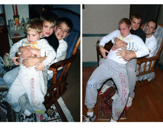three-brothers-reenact-their-childhood-photos -as-a-gift-for-their-mother-10
