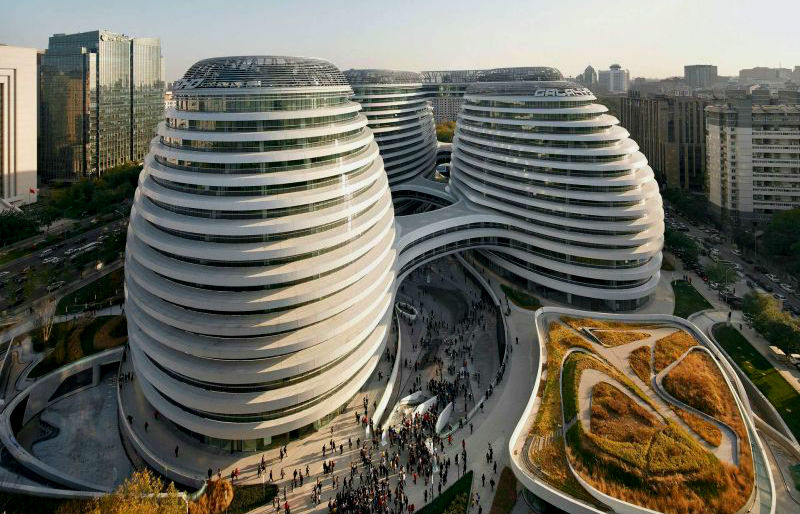 10 WeirdestLooking Examples of Modern Chinese Architecture  Brain Berries