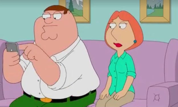 Peter și Lois, Family Guy | 11 Personaje TV care au avut întâlniri cu oameni care nu erau la același nivel cu ei | Brain Berries