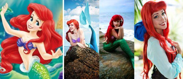 Ariel   Cele Mai Populare Personaje Feminine Costumate   Brain Berries