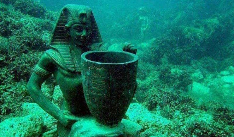 Resultado de imagen para 7 Descubrimientos Raros Encontrados en el Fondo del Agua