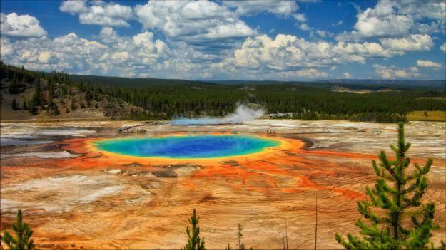 Йеллоустонский национальный парк, США  | 10 популярных туристических мест, которые скоро могут исчезнуть | BrainBerries