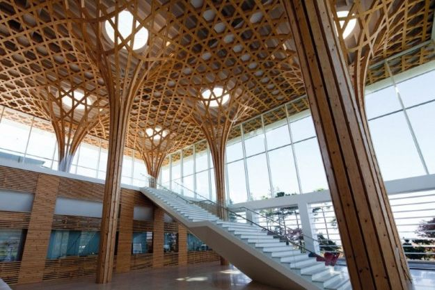 Haesley Nine Bridges Golf Club House, Yeoju-gun, South Korea | The World's Most Beautiful Ceilings | Brain Berries